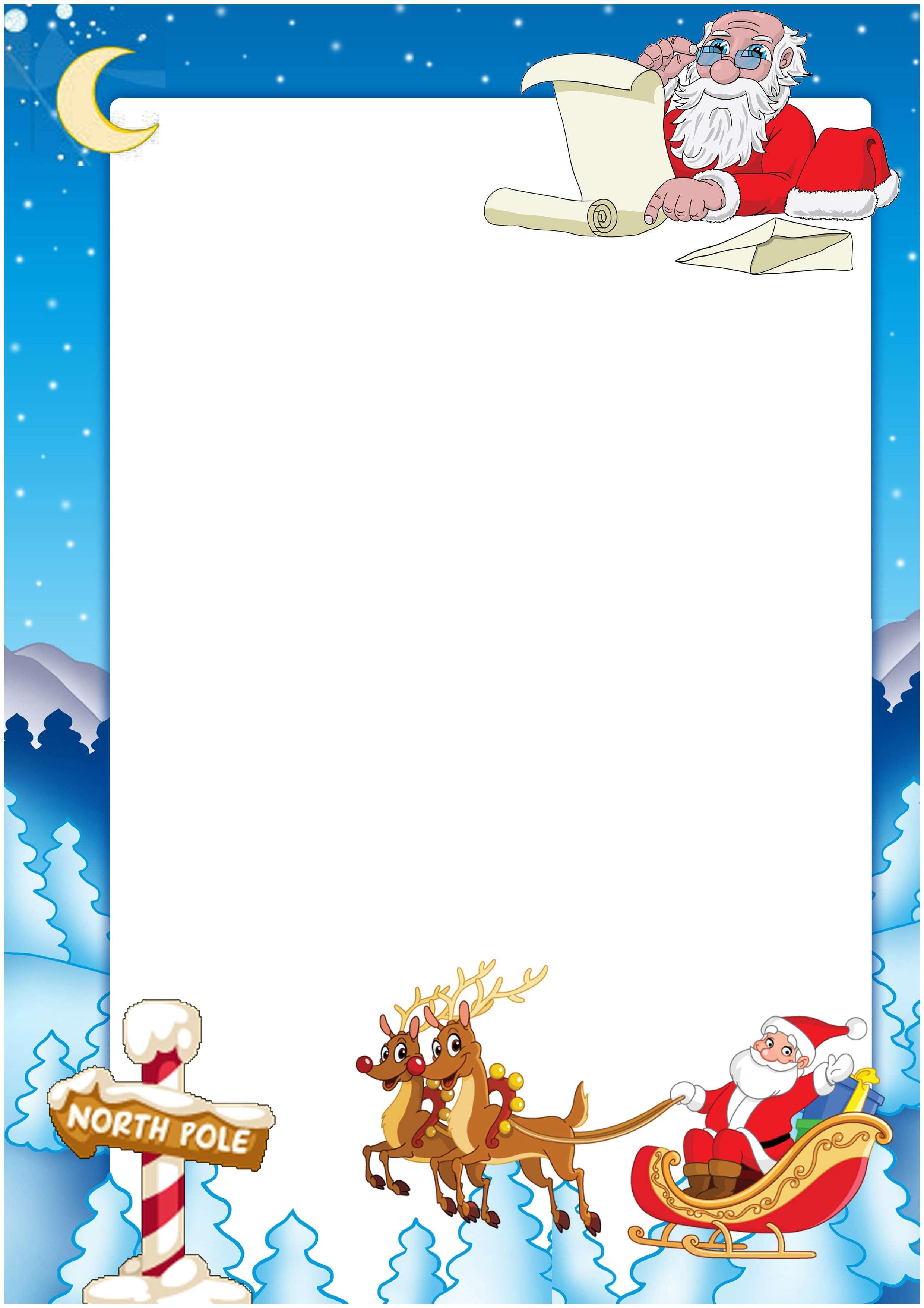 Letter from santa 2017 uk spiritdancerdesigns Images