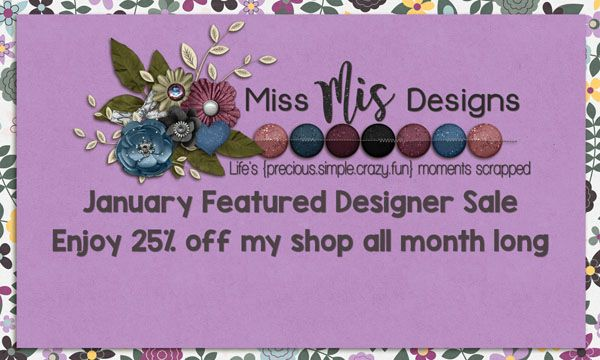 Miss Mis Designs 25% Off Sale!