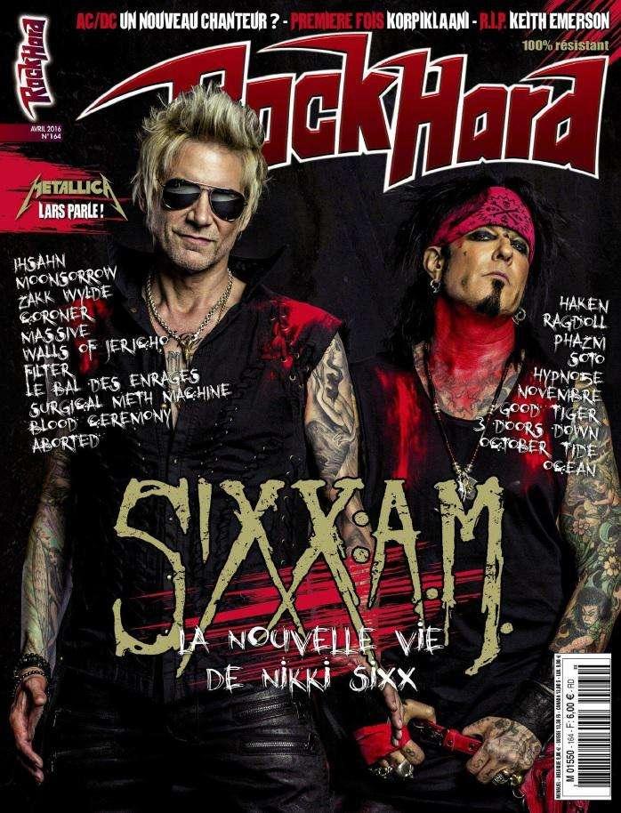Rock Hard - Avril 2016