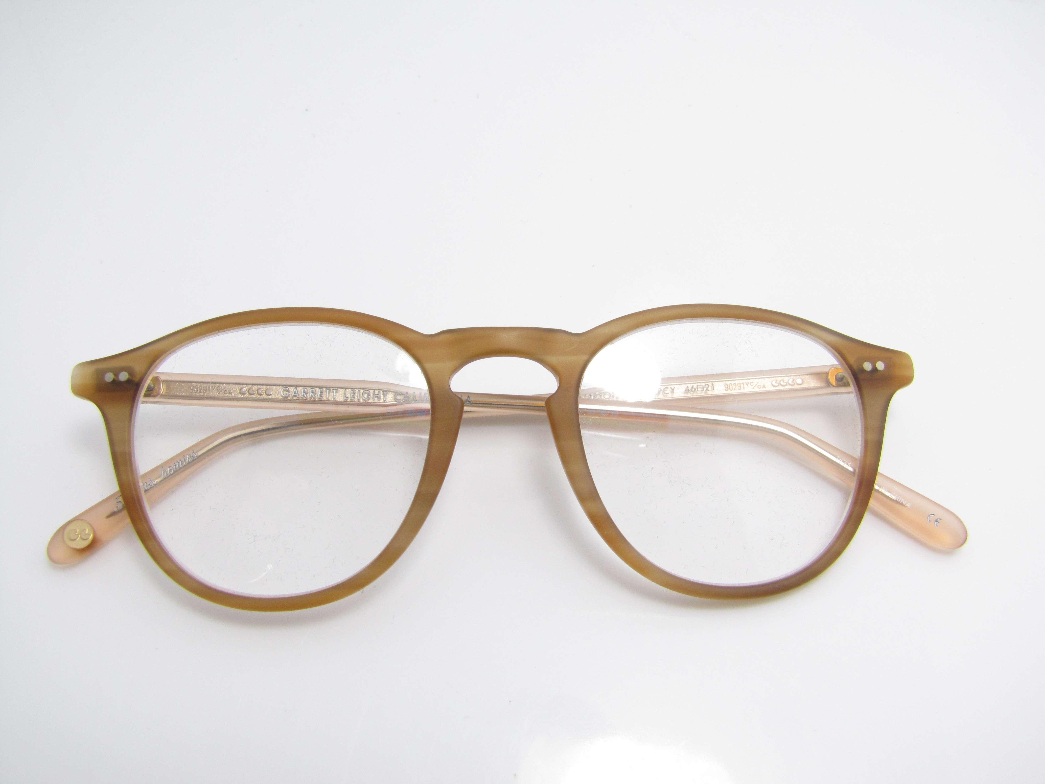 Garrett Leight California Eyeglasses New Eyewear Genuine ...