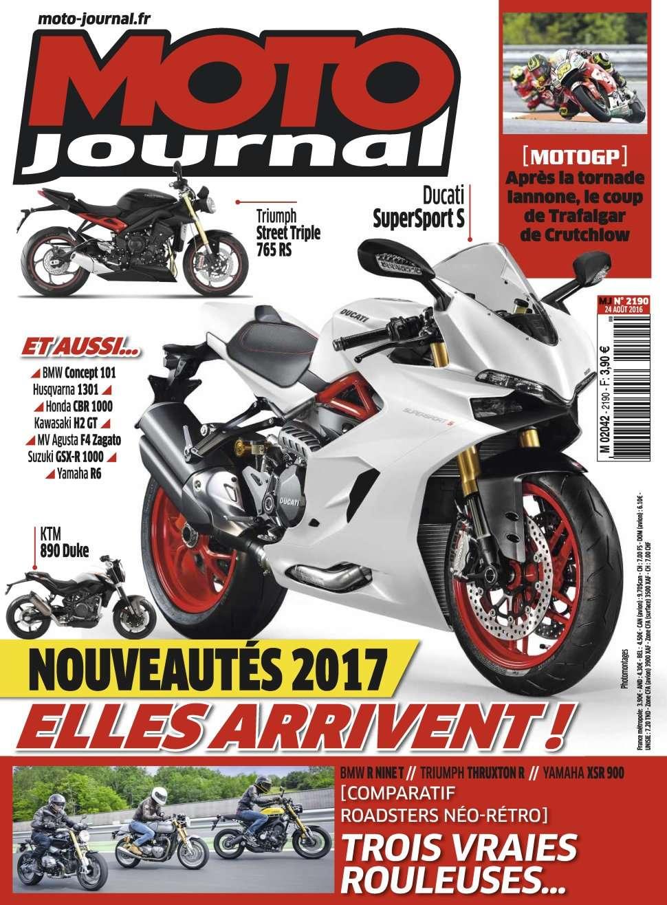 Moto Journal 2190 - 24 Août 2016