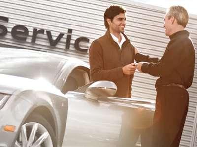 Audi Service Loaner Vehicle Louisville