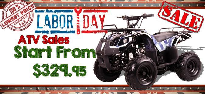 ATV Labor Day Sale - Power Ride Outlet