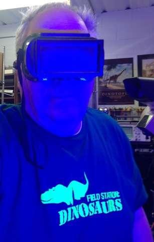 Blue LEDs in lab