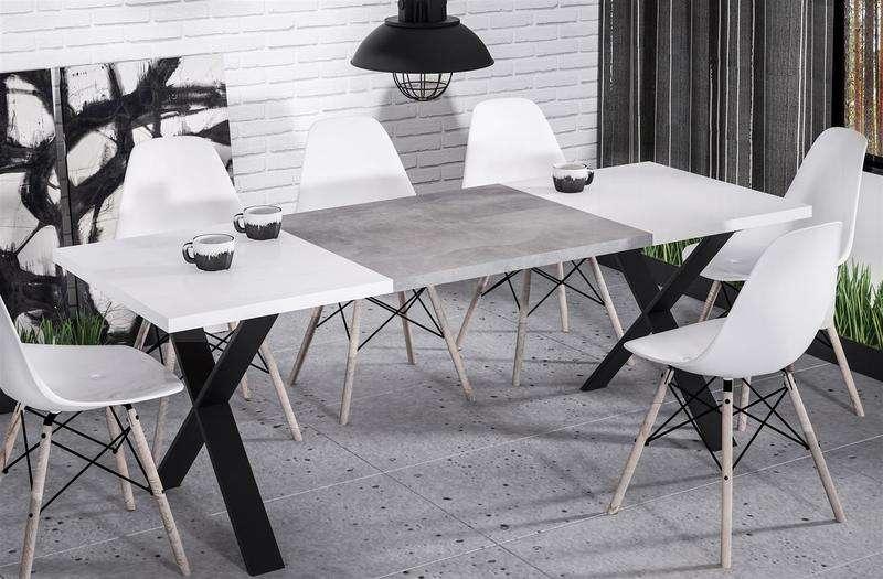 esstisch endo stol x 210 k chentisch industrial loft On kuchentisch industrial