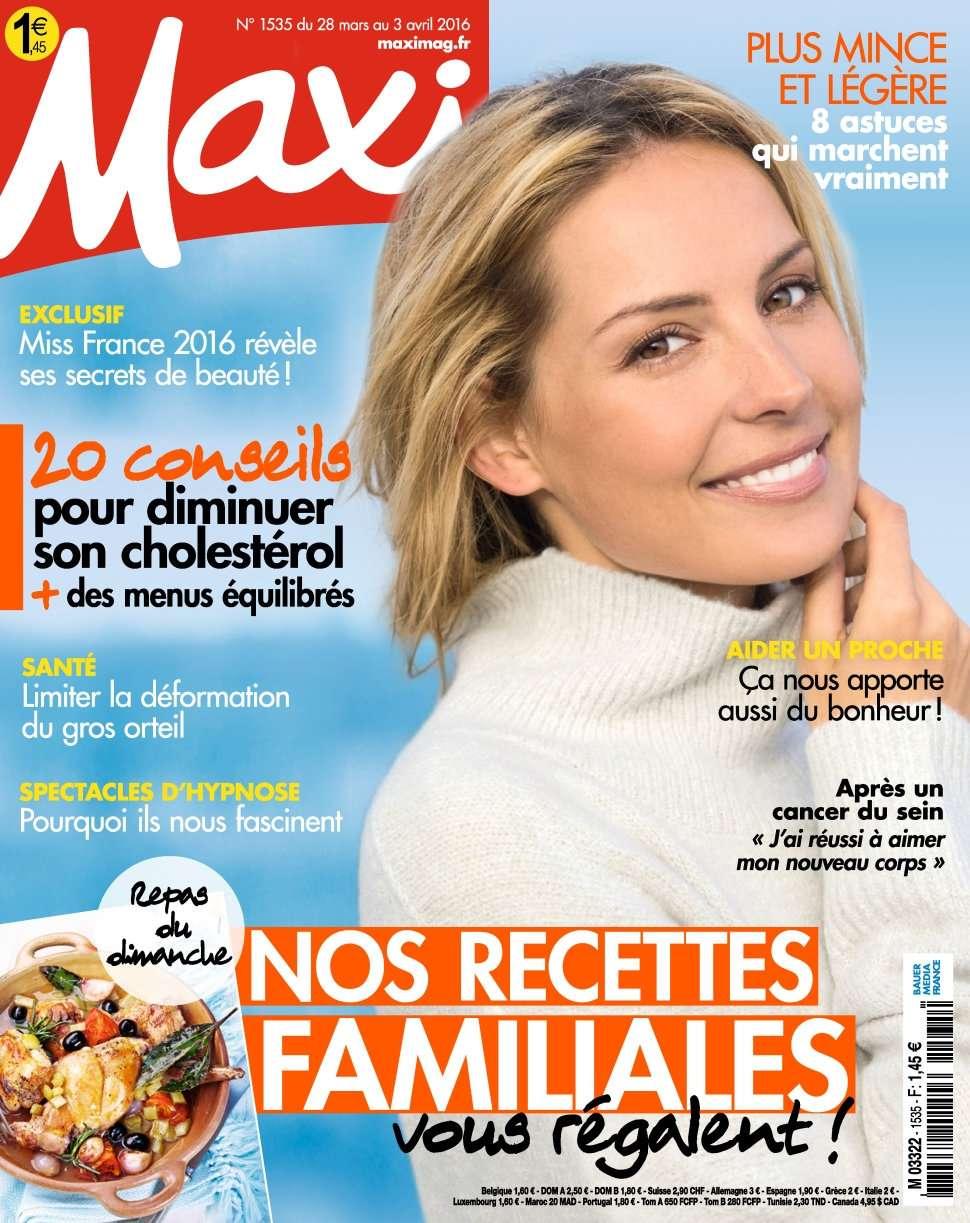 Maxi 1535 - 28 Mars au 03 Avril 2016