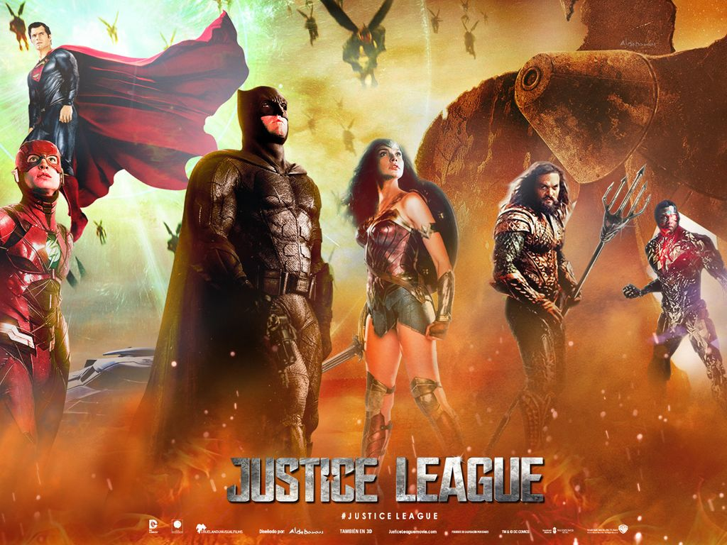 Justice League Quad Poster Πόστερ