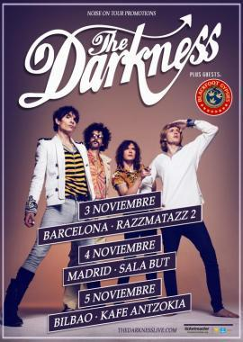 The Darkness - gira española