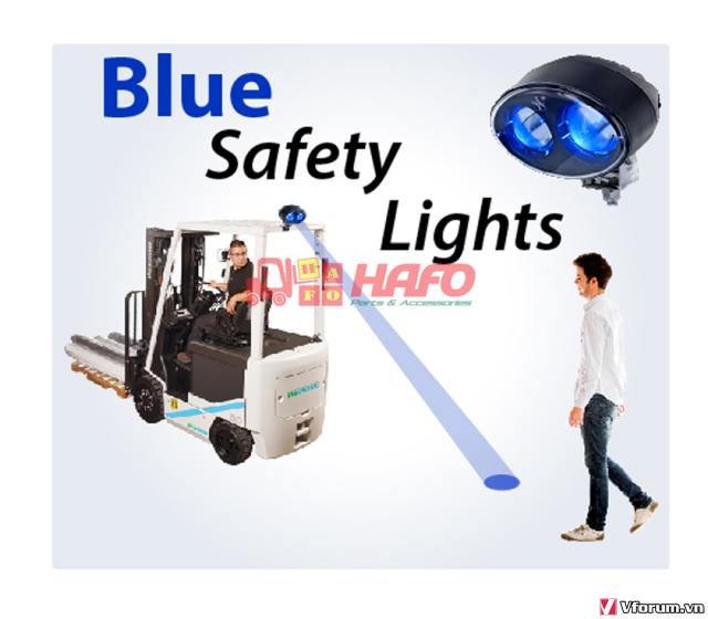 Đèn  cảnh báo 48V-12V-24V, Đèn cảnh báo xe nâng, Đèn pha xe nâng 48V - 5