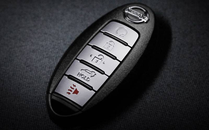 replace battery in nissan leaf key fob