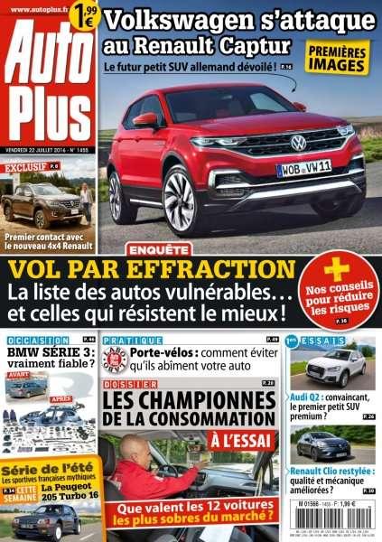 Auto Plus 1455 - 22 au 28 Juillet 2016