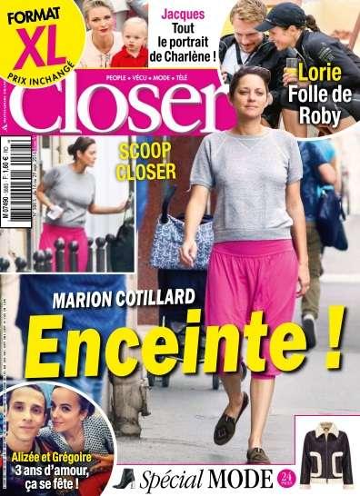 Closer France - 16 au 22 Septembre 2016