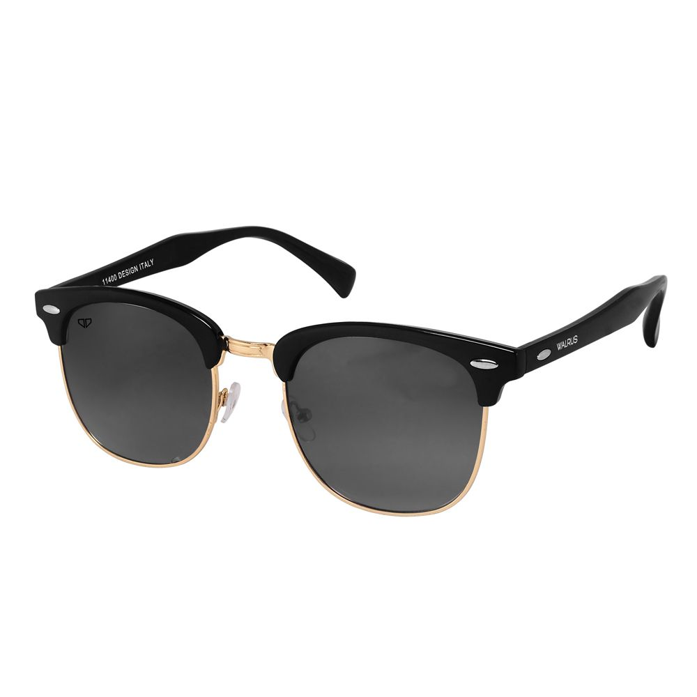 Walrus Michel Black Color Unisex Wayfarer Sunglass - WS-MCHL-II-020206