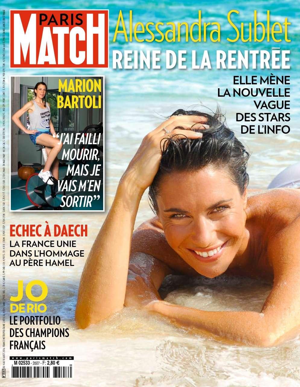 Paris Match 3507 - 4 au 10 Août 2016