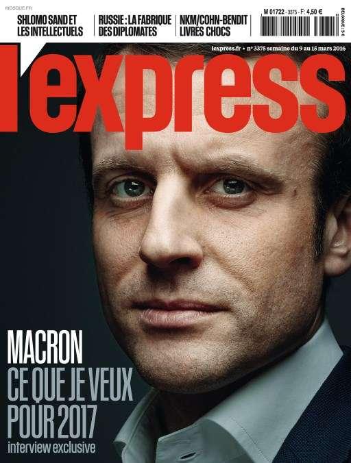 L'Express 3375 - 9 au 15 Mars 2016