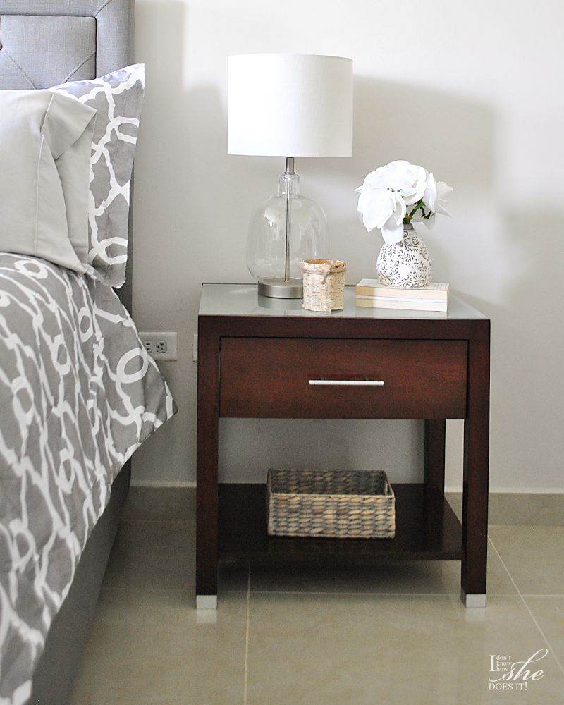 Side table lamp