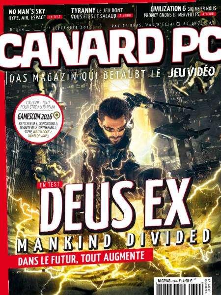 Canard PC - 1 Septembre 2016