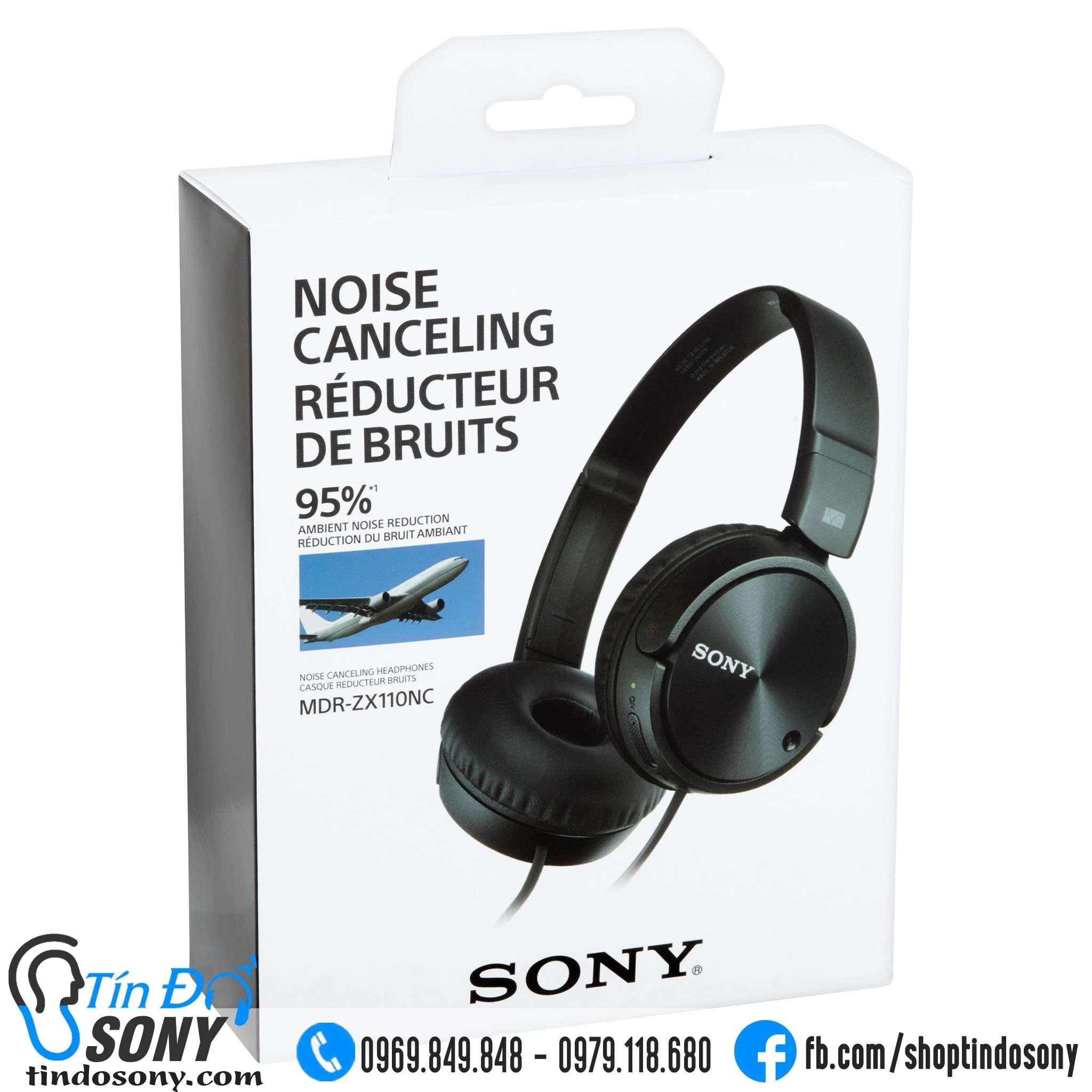 Tai nghe Sony ZX110NC Chống Ồn (Like New Fullbox)