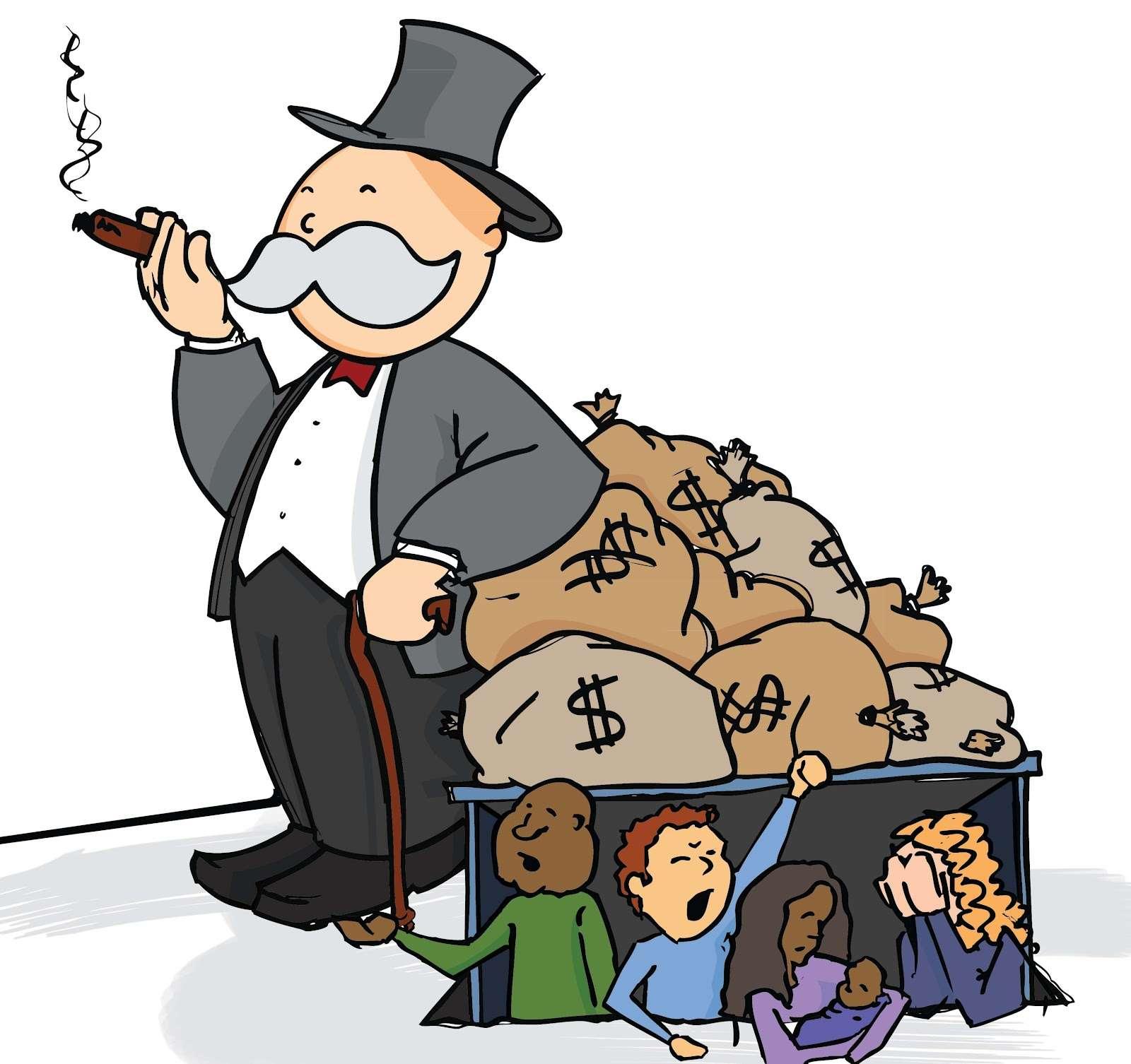 Rich Get Richer, Poor Get Poorer