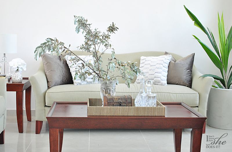 Living room serene colors