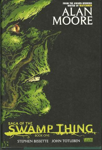 Saga of the Swamp Thing, Book 1, Alan Moore