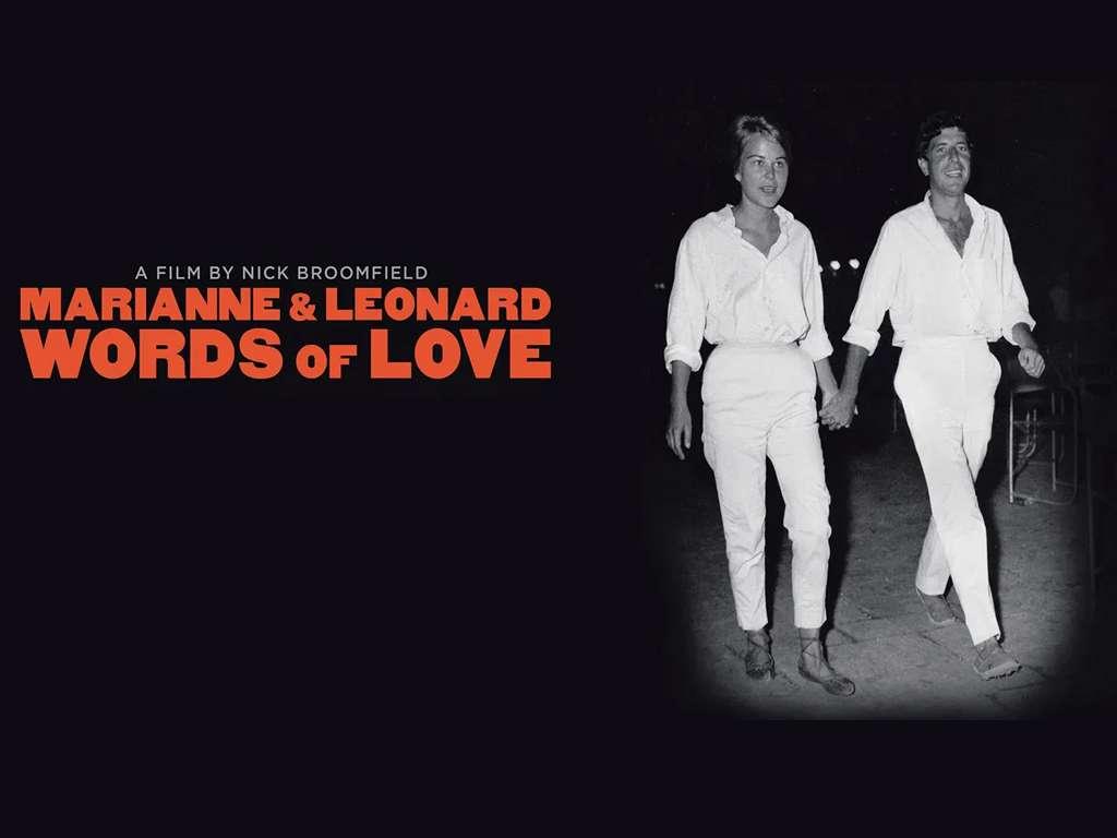 Marianne & Leonard Λόγια Αγάπης (Marianne & Leonard Words of Love) Quad Poster
