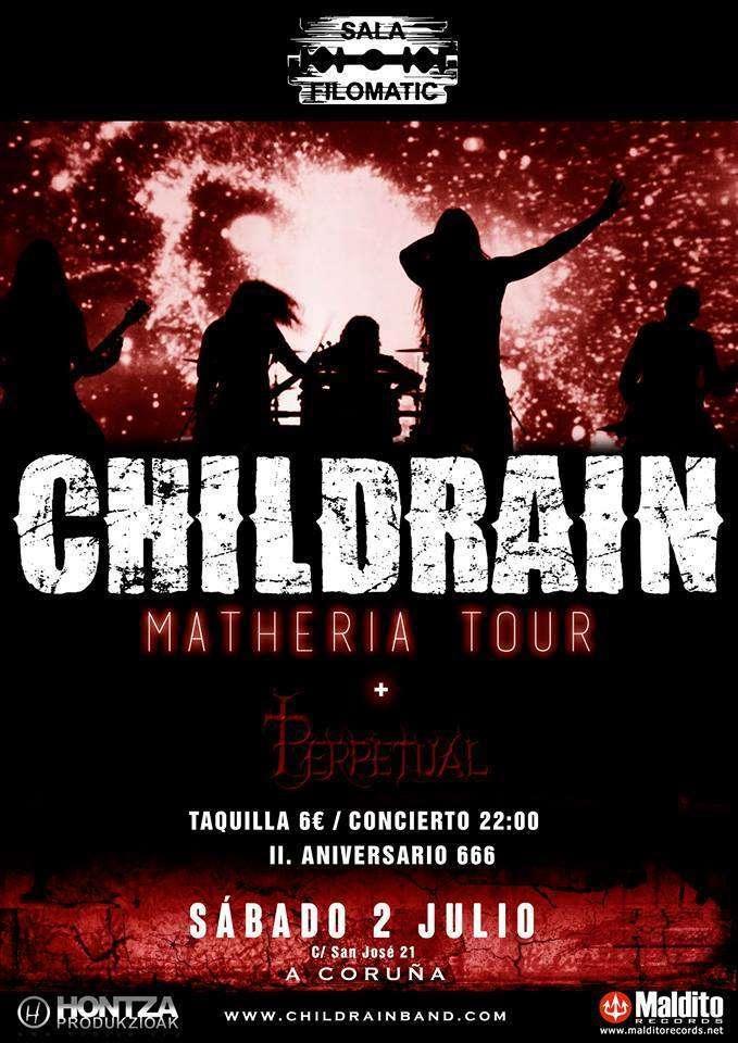 Childrain - Coruña cartel