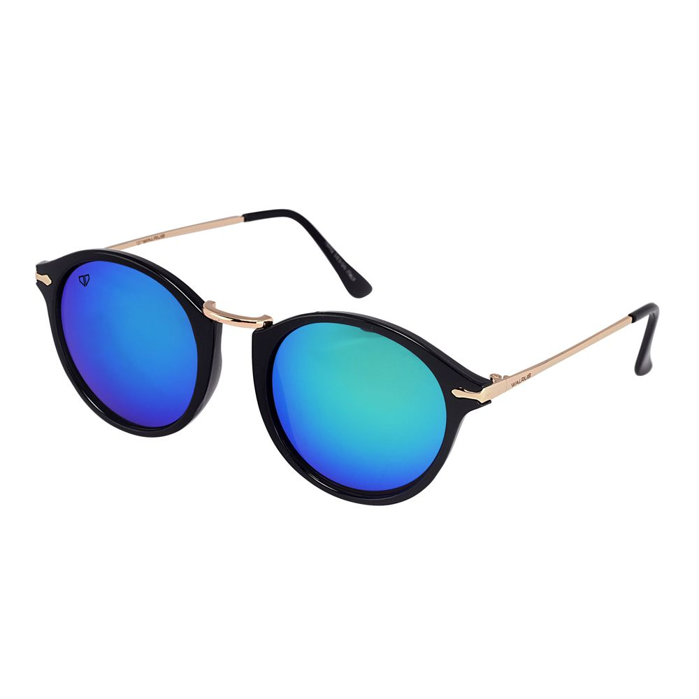 Walrus Jackson Multicolor Mirror Color Unisex Oval Sunglass - WS-JKSN-210206