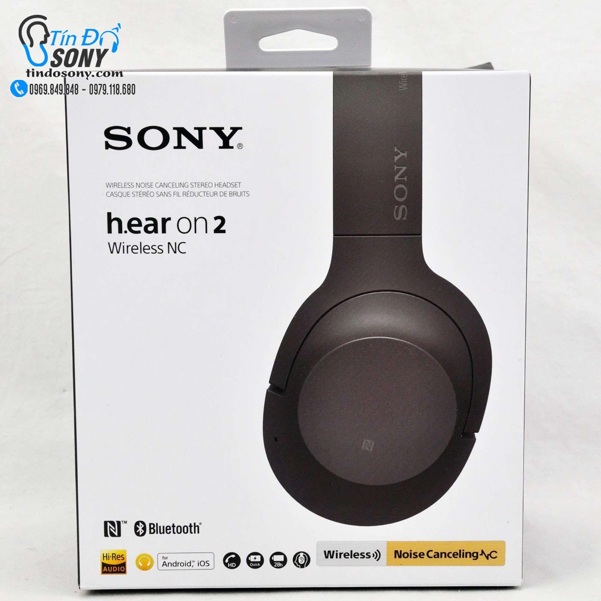 Sony H.EAR ON 2 Wireless NC WH-H900N (Like New Fullbox)