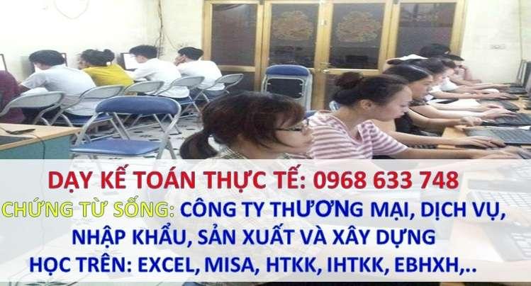 Mr Loan dạy kèm kế toán tổng hợp tốt nhất Hà Nội
