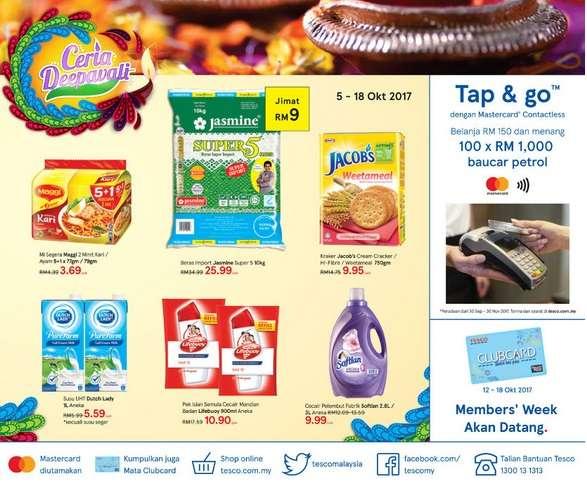 Tesco Malaysia Weekly Catalogue (5 Oct 2017 - 11 Oct 2017)