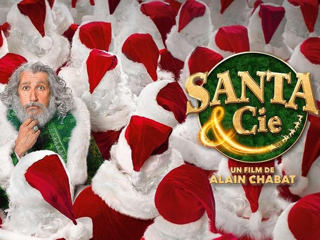 Χριστούγεννα & Σία (Santa & Cie) Movie Quad Poster Wallpaper