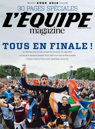 L'Equipe Magazine - 9 Juillet 2016