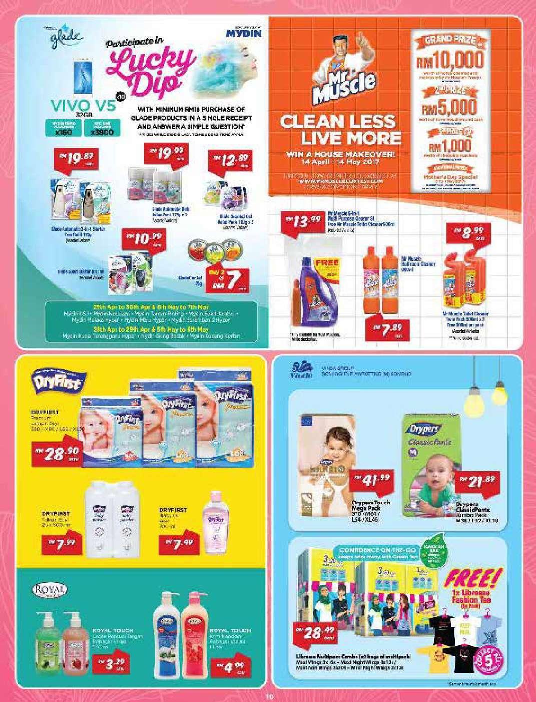 Mydin Catalogue(20 April – 7 May 2017)