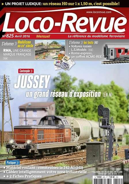Loco Revue 825 – avril 2016