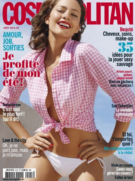 Cosmopolitan France 513 - Aout 2016
