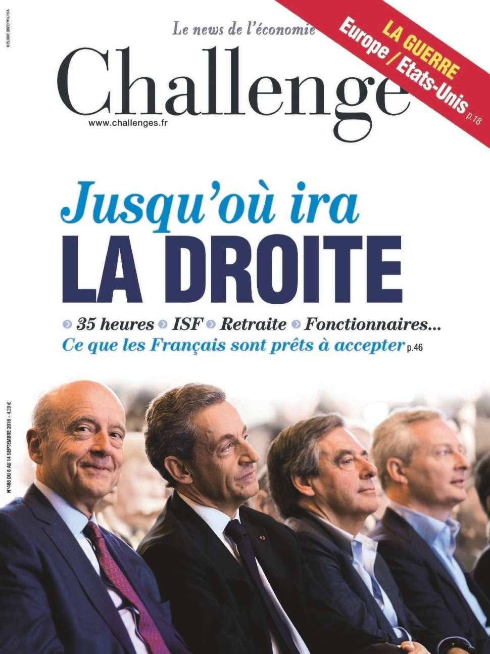 Challenges 488 - 08 au 14 Septembre 2016