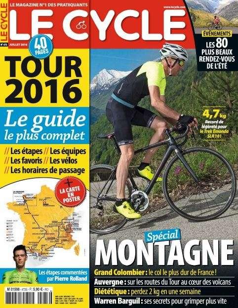 Le Cycle 473 - Juillet 2016