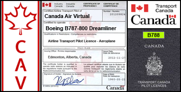 Boeing B787-800 Dreamliner Certification Flight