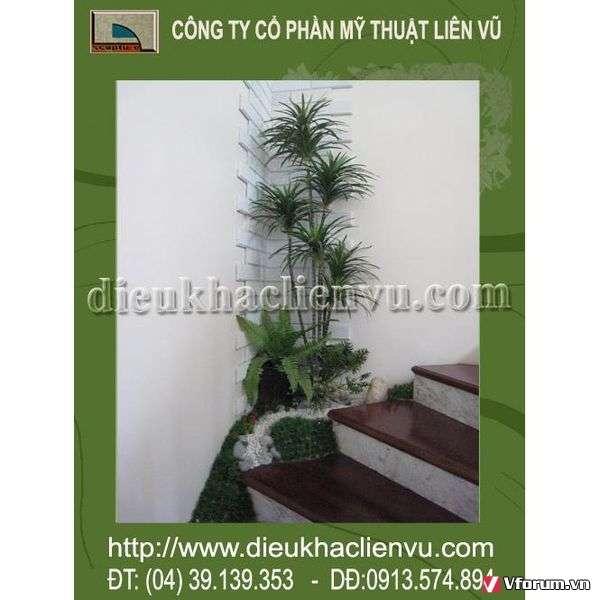 www.123nhanh.com: Tiểu cảnh cầu thang