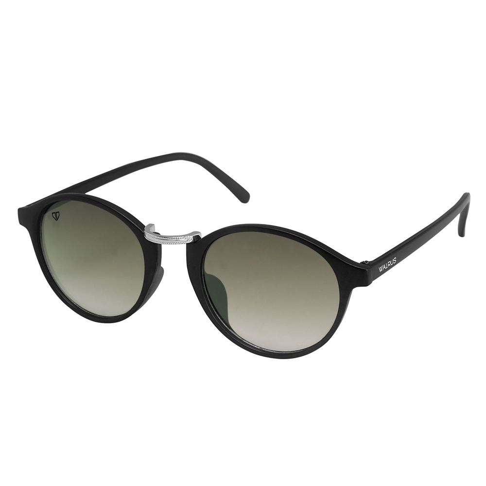 Walrus James Green Color Unisex Oval Sunglass - WS-JAMES-II-040207