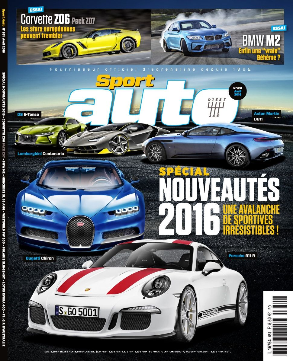 Sport Auto 651 - Avril 2016