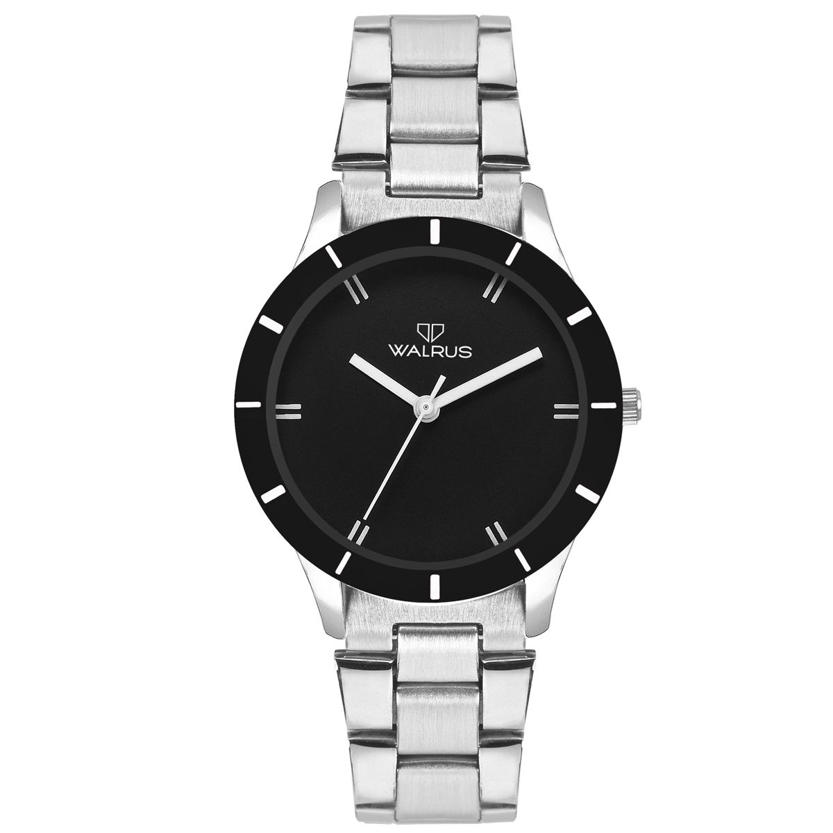 Walrus Eve Chain Black Color Analog Women Watch -WWW-Eve -CH-020707