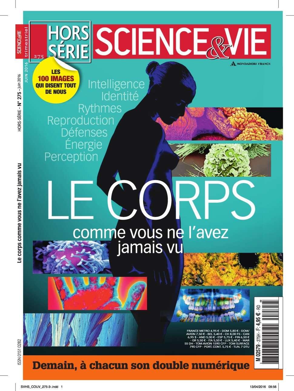 Science & Vie Hors-Série 275 - Juin 2016