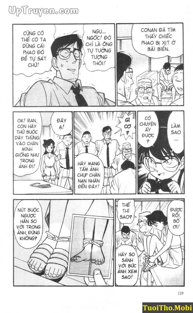 đọc truyện Conan bộ đặc biệt chap 6 trang 17