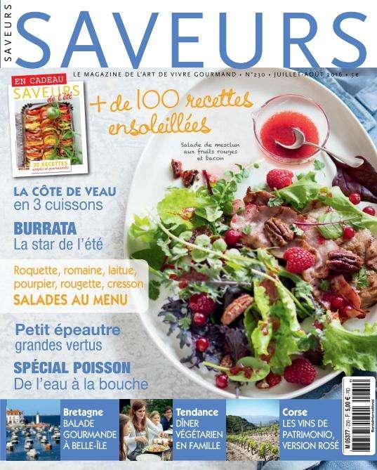 Saveurs - Juillet-Août 2016