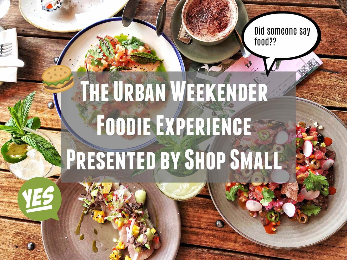 Urban Weekender Presented by Shop Small