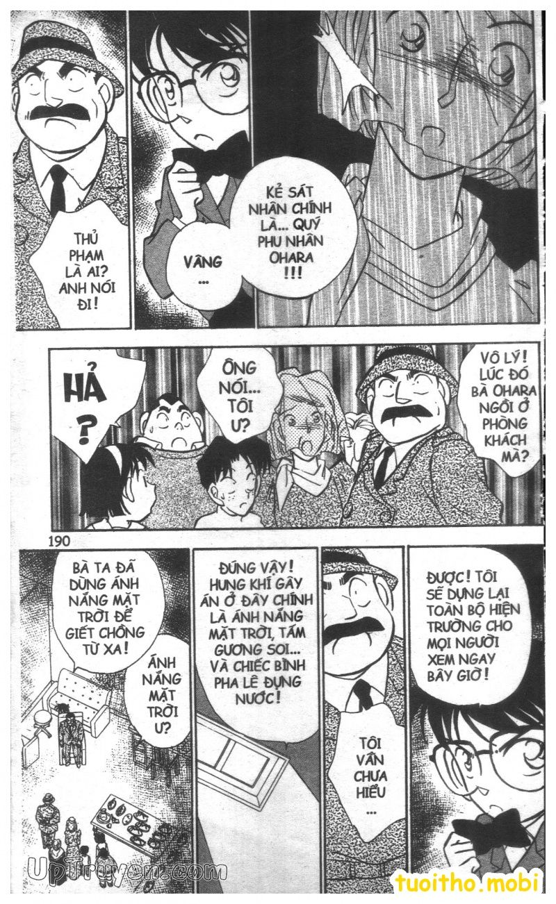 đọc truyện Conan bộ đặc biệt chap 27 trang 17