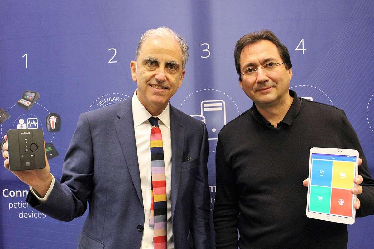 Marc Berrebi et Stéphane Schinazi, fondateurs d'eDevice