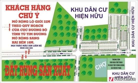 150tr nền gần sân bay Long Thành - Đồng Nai - KDC Song Phương HotHotHot
